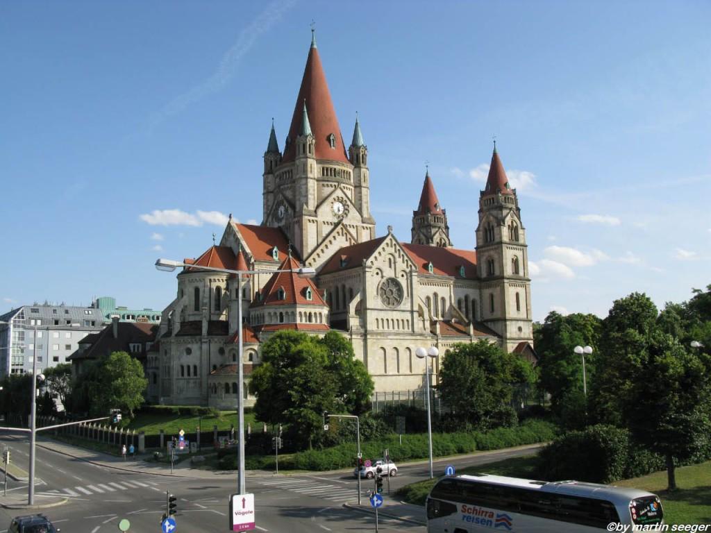 Franz-von-Assisi-Kirche oder auch Mexikokirche in Wien