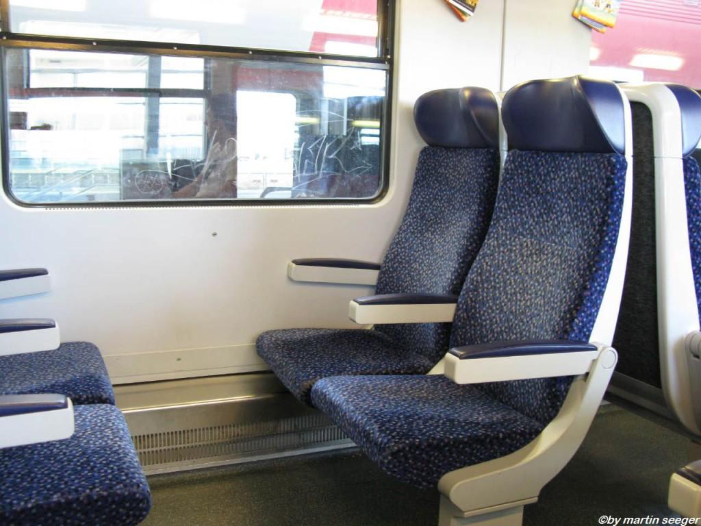 Sitze im REX nach Bratislava