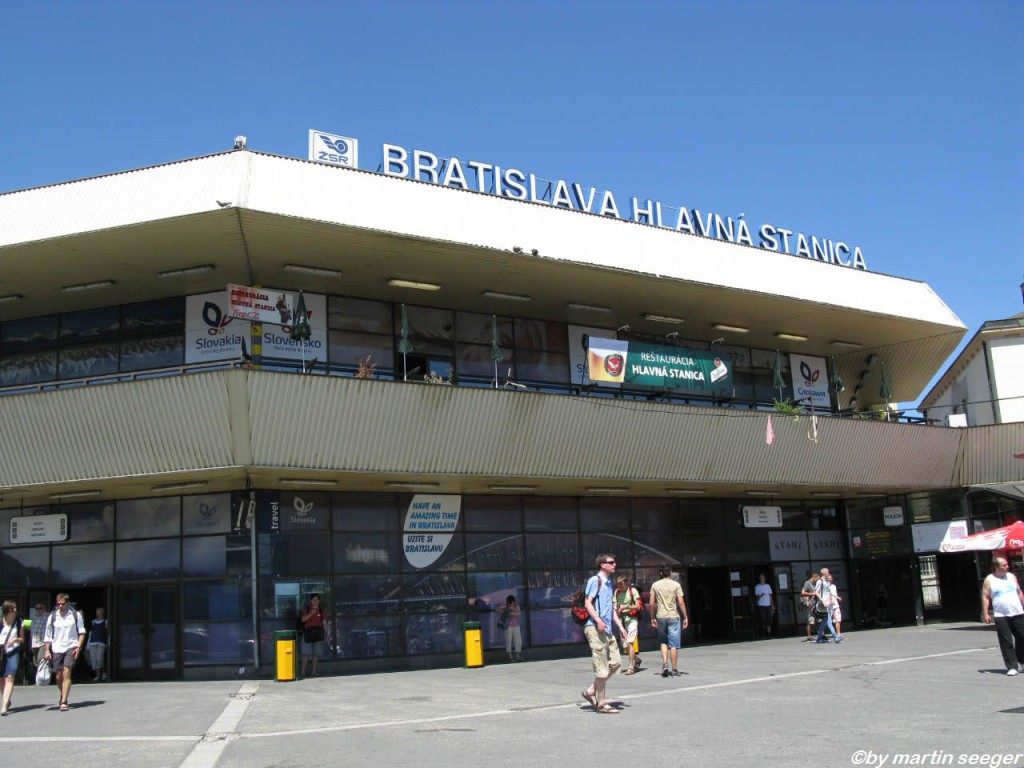 Bahnhofsgebäude Bratislava hlavná stanica