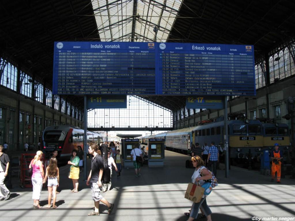 Budapest Nyugati pályaudvar