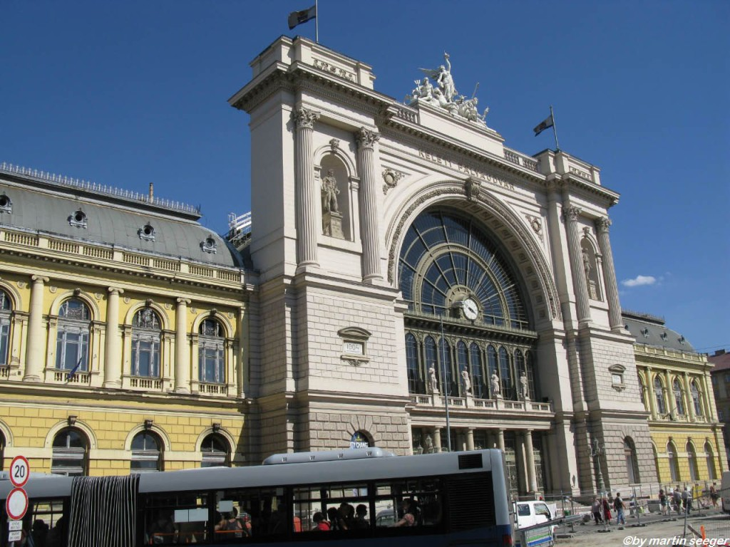 Ganze Name: Budapest Keleti pályaudvar
