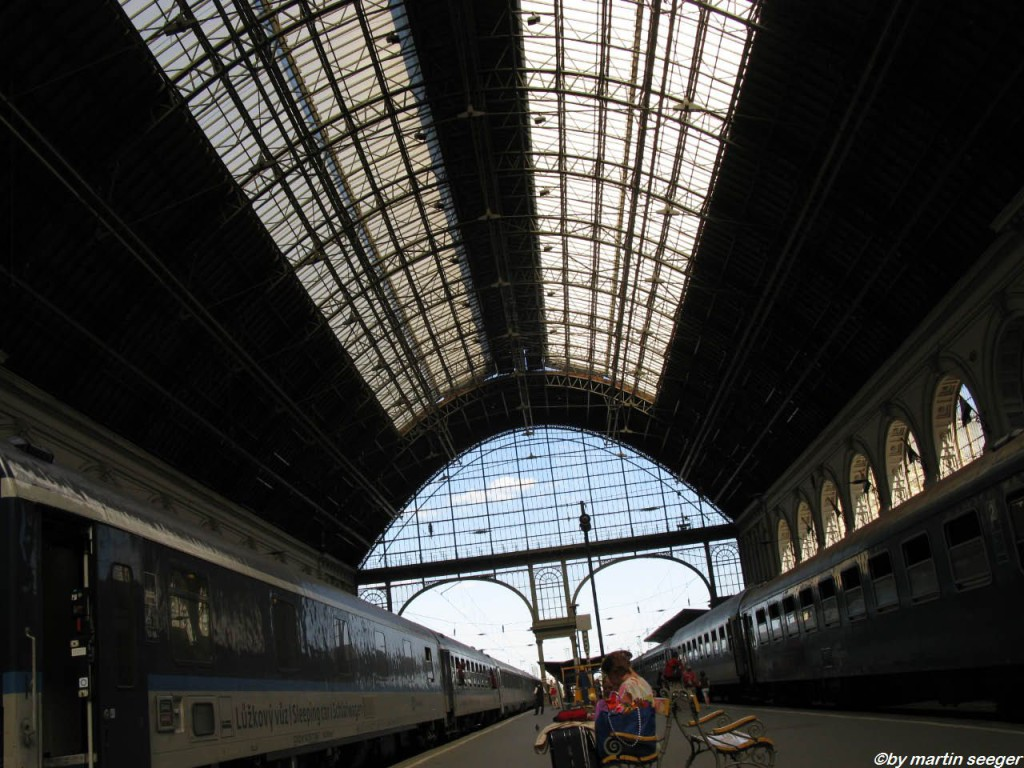 Bahnhofshalle Budapest Keleti