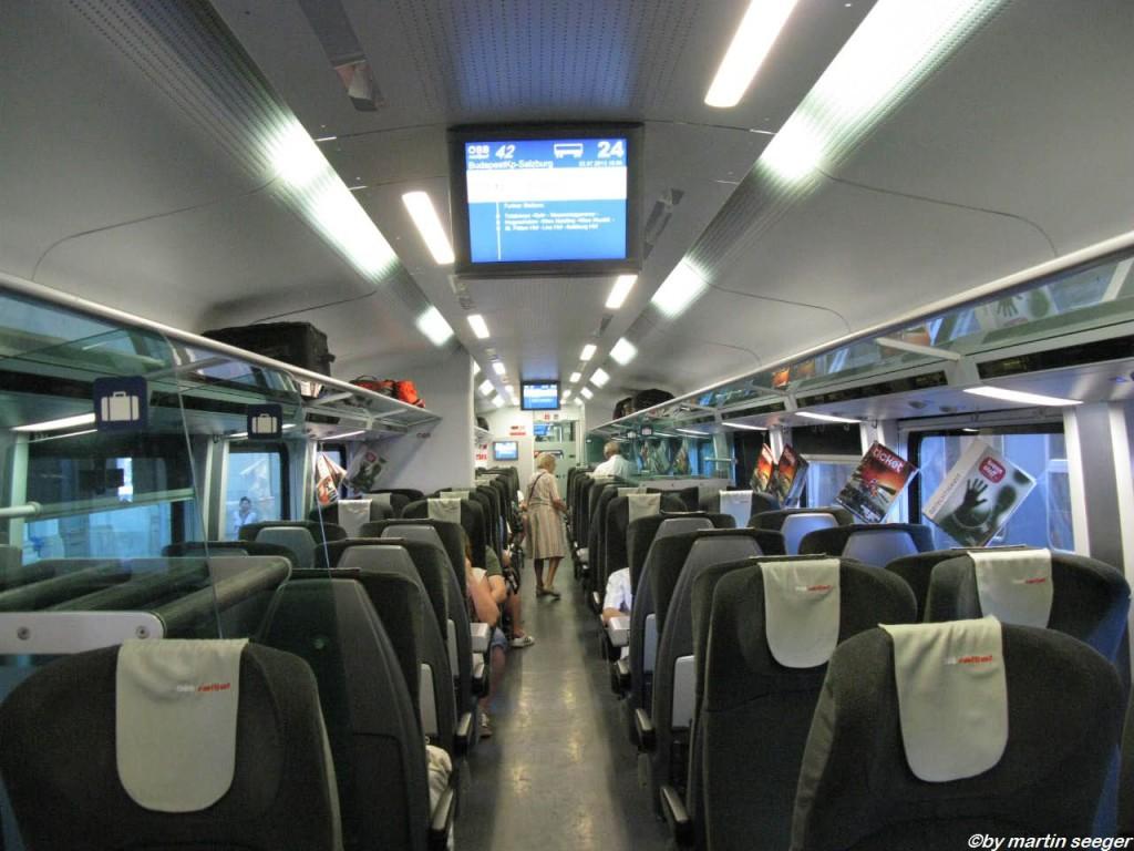 Innenraum Railjet