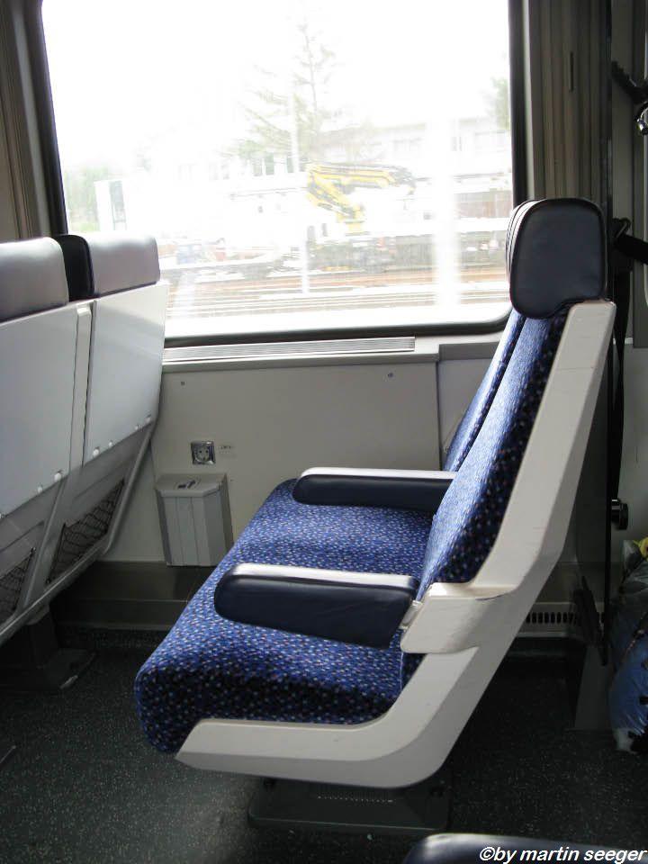 Sitz im ÖBB-Wagen