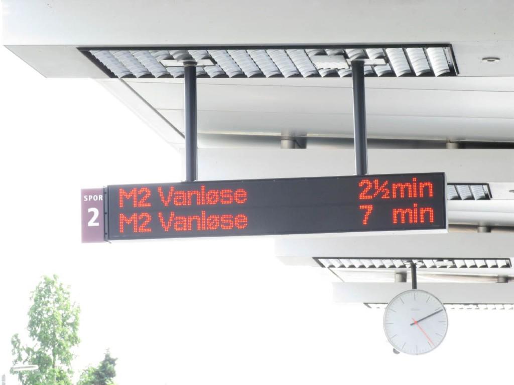 Anzeige Metro M2