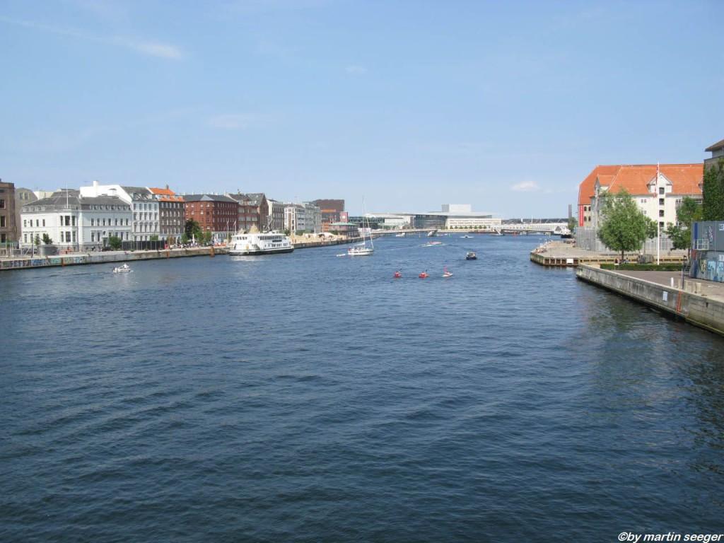 Kanal in Kopenhagen