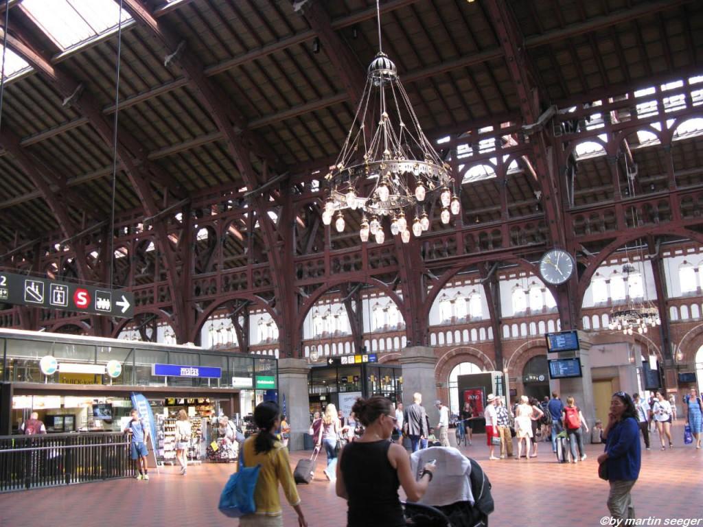 Bahnhofshalle Kopenhagen