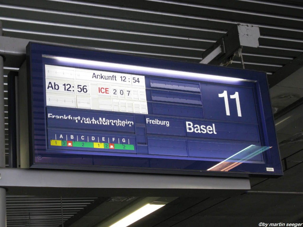 Zug nach Basel